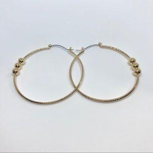 Hoop Earrings with design